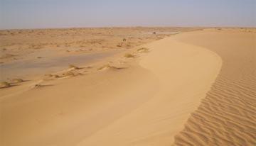 Al llegar a la duna >> Y… ¿dónde queda el Sáhara? >> Blogs EL PAÍS