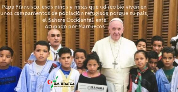 Carta al Papa Francisco con motivo de su viaje a Marruecos – Um Draiga