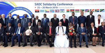 Southern African Development Community :: SADC and international community express unwavering solidarity with Western Sahara