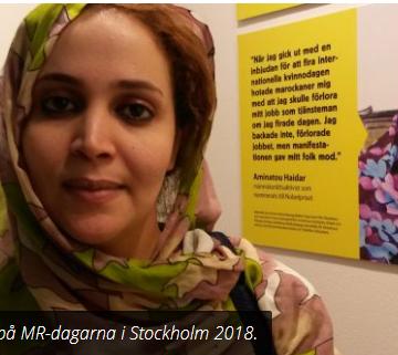 Informar, el delito de una periodista saharaui | Contramutis