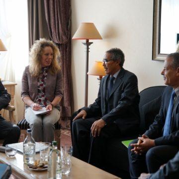 Delegación del F. Polisario se reúne con el enviado de la ONU para el Sahara Occidental, Horst Kohler   Sahara Press Service