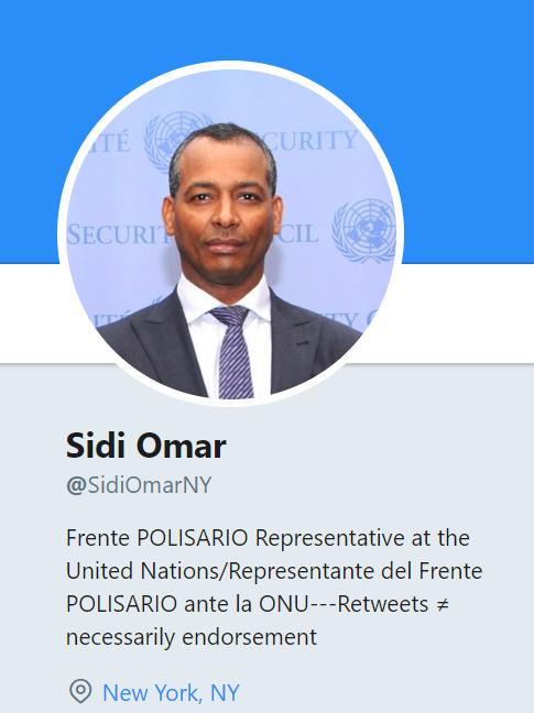 Sidi Omar: el Frente #POLISARIO está dispuesto a participar de manera seria y constructiva en el proceso de negociaciones de Ginebra
