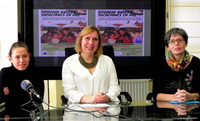 Presentado el programa Oporrak Bakean para encontrar a familias de acogida de menores saharauis | ENPORTUGALETE-com