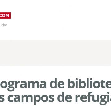 Bubisher, el programa de bibliotecas más valorado en los campos de refugiados