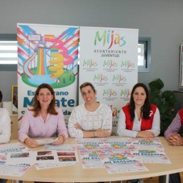 Juventud pone en marcha la tercera edición de Mójate con la Solidaridad – Mijas Comunicación SA