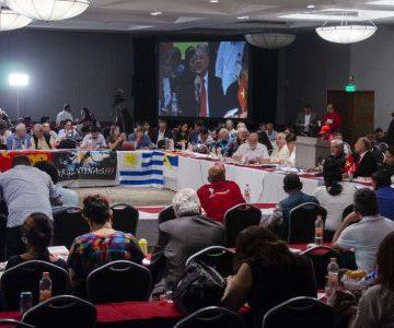 XXIII Seminario Internacional organizado por PT de México Respalda la autodeterminación e independencia Saharaui   werken rojo