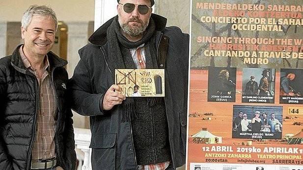 EEUU, Sáhara y Donostia, unidas por un concierto de folk. Noticias de Gipuzkoa
