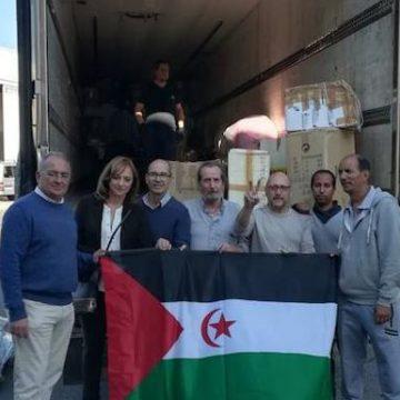 Granada envía 23 toneladas de ayuda humanitaria a los refugiados saharauis   Ideal