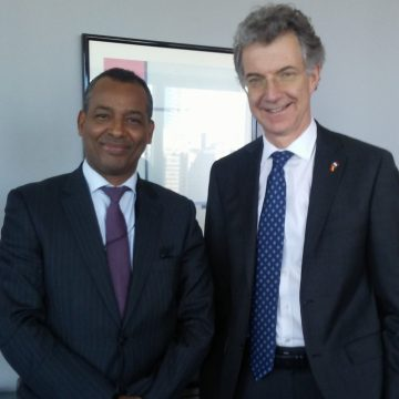 El representante del Frente POLISARIO ante la ONU se reúne con el Presidente del Consejo de Seguridad | Sahara Press Service