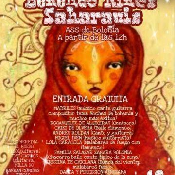 Más de 15 artistas participarán este sábado en el tradicional Festival Benéfico para Niños Saharauis de Bolonia – Tarifaaldia – Diario de Tarifa-