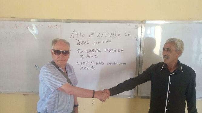 La solidaridad zalameña dota de mobiliario a una residencia de estudiantes saharauis