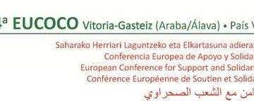 44ª Eucoco 2019 Vitoria-Gasteiz – Información de interés – CEAS-Sahara