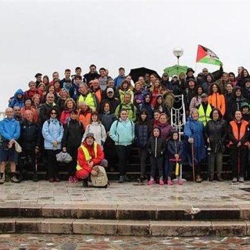 Marcha solidaria en Laredo para el programa de acogida de menores saharauis 'Vacaciones en Paz'