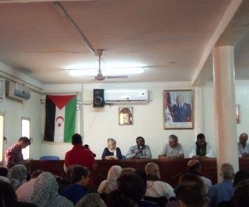 Estudiantes de la Escuela de Enfermería celebran Fin de Curso | Sahara Press Service