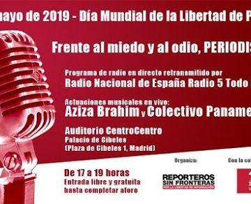 Solidaridad periodística española en Madrid con el Sahara Occidental | DIARIO LA REALIDAD SAHARAUI