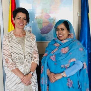 Saharawi representative in Spain meets with the director for Maghreb in the Ministry of Foreign Affairs of Spain | Sahara Press Service