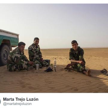 El tiempo se congela en los campos de refugiados de Tindouf –UNA CRÓNICA DE MARTA TREJO LUZÓN