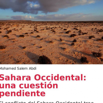 Nouvelle parution: Sahara Occidental, una cuestión pendiente – Mohamed Salem Abdi – OUISO