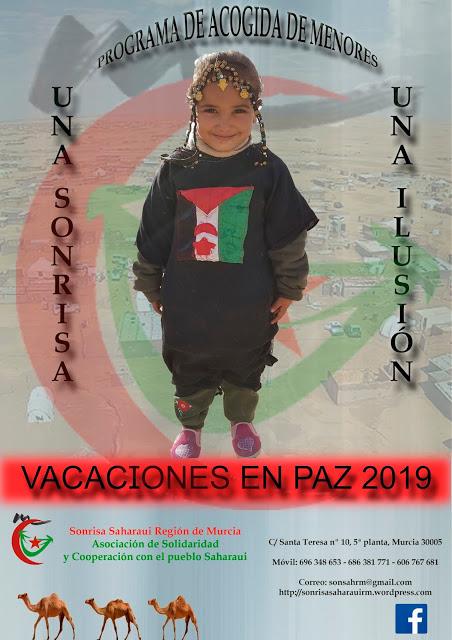 Cope Jumilla: SONRISA SAHARAUI BUSCA A FAMILIAS PARA EL PROGRAMA VACACIONES EN PAZ