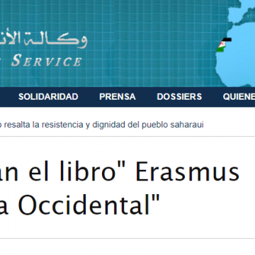 Austria: presentan el libro» Erasmus goes en el Sahara Occidental» | Sahara Press Service