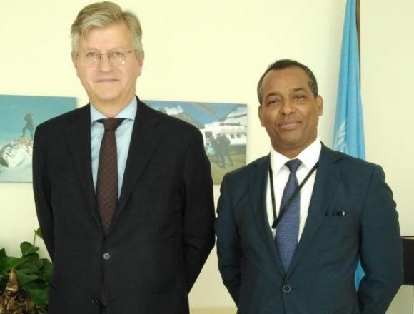 El representante del Frente POLISARIO ante la ONU se reúne con el Secretario General Adjunto de Operaciones de Paz | Sahara Press Service