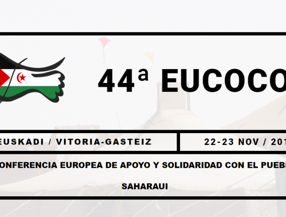 Disponible la web de la próxima EUCOCO VITORIA-GASTEIZ 2019