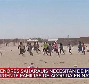 Vídeo: Niños y niñas saharauis necesitan familias navarras en verano de 2019   Navarra Directo   EiTB