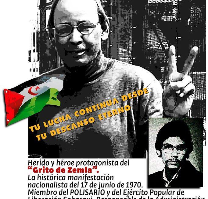 Luto para la causa saharaui por el fallecimiento SIDI-SALEH SIDAHMED TAYEB