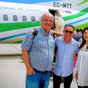 DEVUELTOS a Canarias LOS TRES OBSERVADORES que pretendían asistir al juicio que la administración marroquí celebra mañana contra la periodista saharaui Nazha El Khalidi
