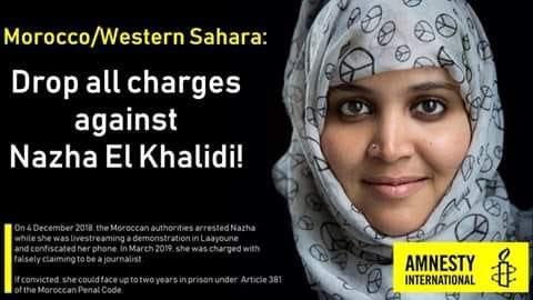 Tribunal marroquí condena a la periodista saharaui Nezha Khalidi a multa de 400 euros sin cárcel – la vanguardia