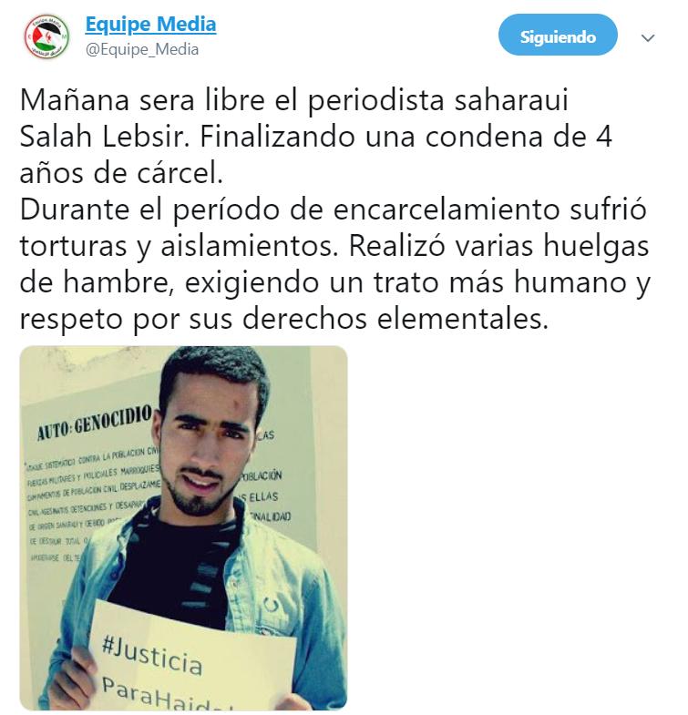 Más #ActualidadSaharaui HOY, 7 de junio de 2019🇪🇭