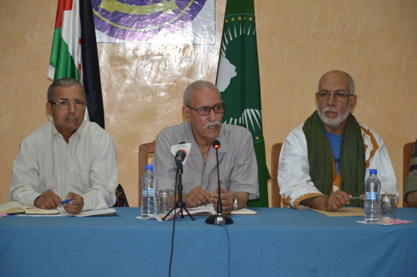El Presidente de la República preside una reunión del Consejo de Ministros.   Sahara Press Service
