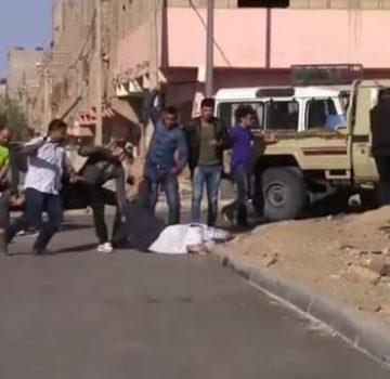 Territoire sahraouis occupés: le domicile familial du détenu politique Abdallah Lebsir assiégé par les forces de l'occupant marocain | Sahara Press Service