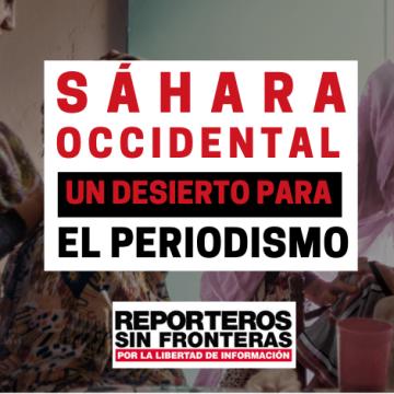 Tortures, detencions, maltractaments, assetjament i presó, el dia a dia dels periodistes sahrauís, segons denúncia RSF — SaharaDempeus