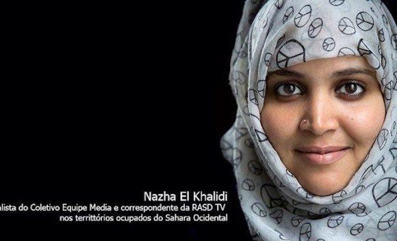 La periodista saharaui Nazha El Khalidi denuncia torturas durante su juicio | Periodistas en Español