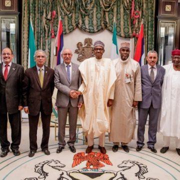 Brahim Gali y Muhammadu Buhari consolidan las relaciones RASD-Nigeria | Sahara Press Service