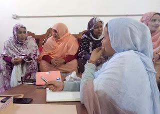 UNMS | UNIÓN NACIONAL DE MUJERES SAHARAUIS.: Reunión ordinaria de la ejecutiva de la UNMS el 29 de mayo de 2019 en la sede de la Unión Nacional de Mujeres Saharauis