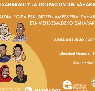 El espejismo de los derechos humanos: La juventud saharaui y la ocupación del Sáhara Occidental / San Sebastián – BIBLIOTECA CENTRAL – SAN JERÓNIMO – SALA DE ACTIVIDADES 08 JUL 2019 / 19:00