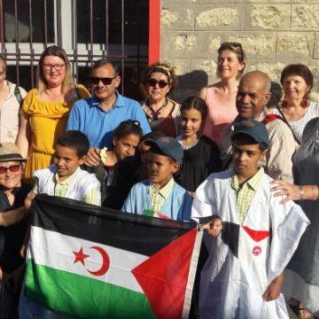 La Mairie d'Ivry sur seine reçoit les enfants sahraouis   Sahara Press Service