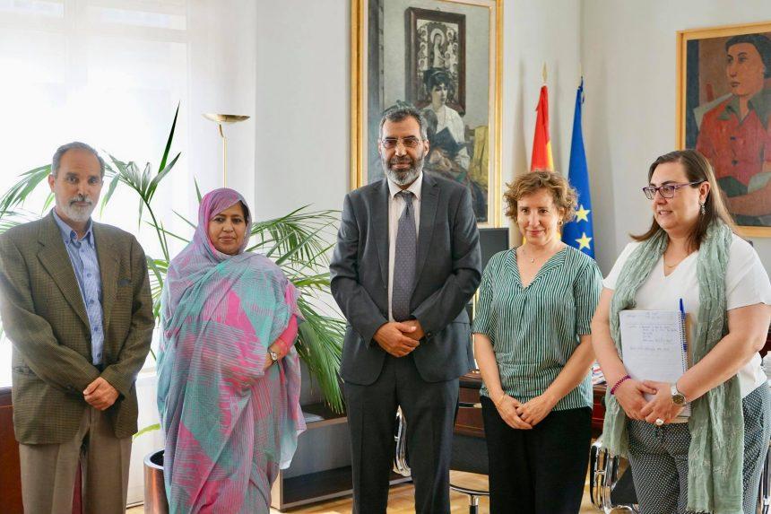 Delegación saharaui se reúne con la directora de AECID para abordar la cooperación en el ámbito educativo   Sahara Press Service