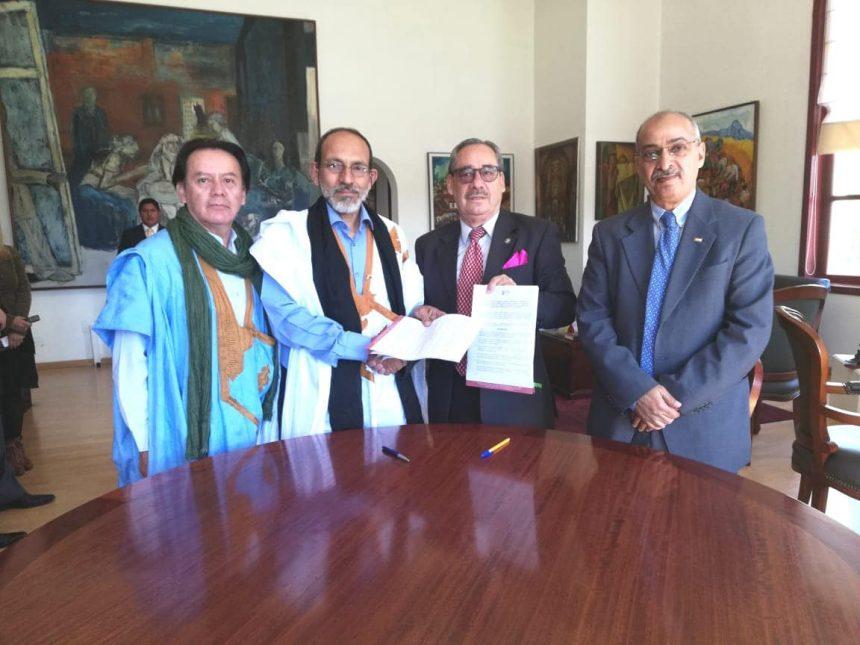 Memorando de Entendimiento entre la Embajada de la RASD y la Casa de la Cultura Ecuatoriana estrecha los lazos culturales entre los pueblos del Sáhara Occidental y el Ecuador   Sahara Press Service
