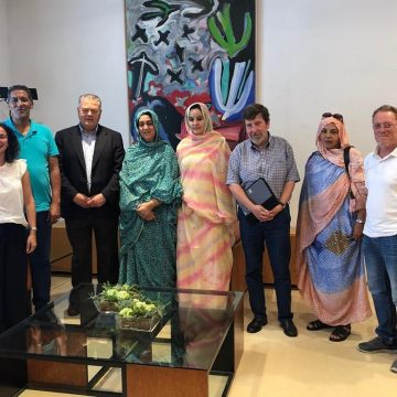 Representante saharaui , Maina Chejatu, pide desde Cantabria mas compromiso político con el pueblo saharaui   Sahara Press Service