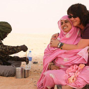Chari Sánchez, un referente activo de la ayuda al pueblo saharaui