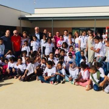 Alcalde de Manzanares, Julián Nieva, da la bienvenida a los niños y niñas saharauis | Sahara Press Service