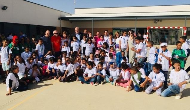 Alcalde de Manzanares, Julián Nieva, da la bienvenida a los niños y niñas saharauis   Sahara Press Service