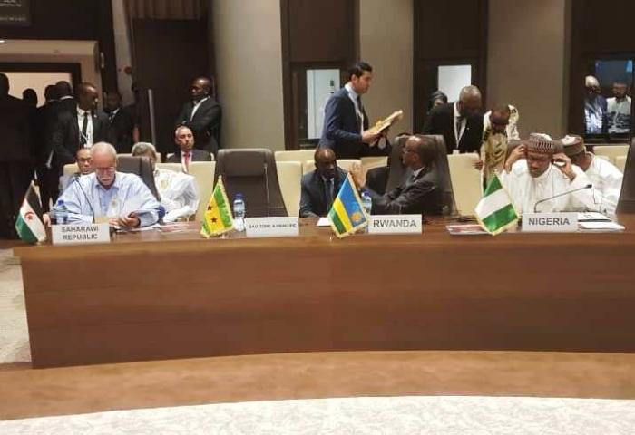 Cumbre extraordinaria de la UA: el Presidente de la República afirma que una África unida, armoniosa, próspera e integrada es un sueño posible   Sahara Press Service