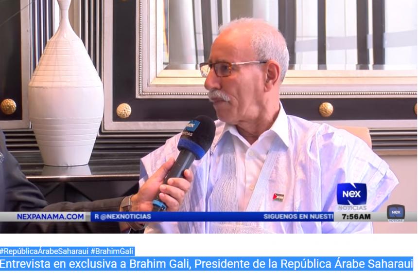 Entrevista en exclusiva a Brahim Gali, Presidente de la RASD