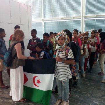 LLegada de los niños y niñas saharauis a Aragón dentro del programa Vacaciones en Paz 2019 – CEAS-Sahara