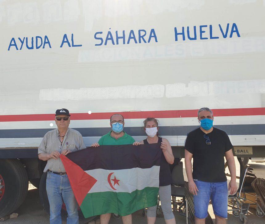 Zalamea entrega mil kilos de alimentos y juguetes para los campamentos saharauis – TINTO NOTICIAS