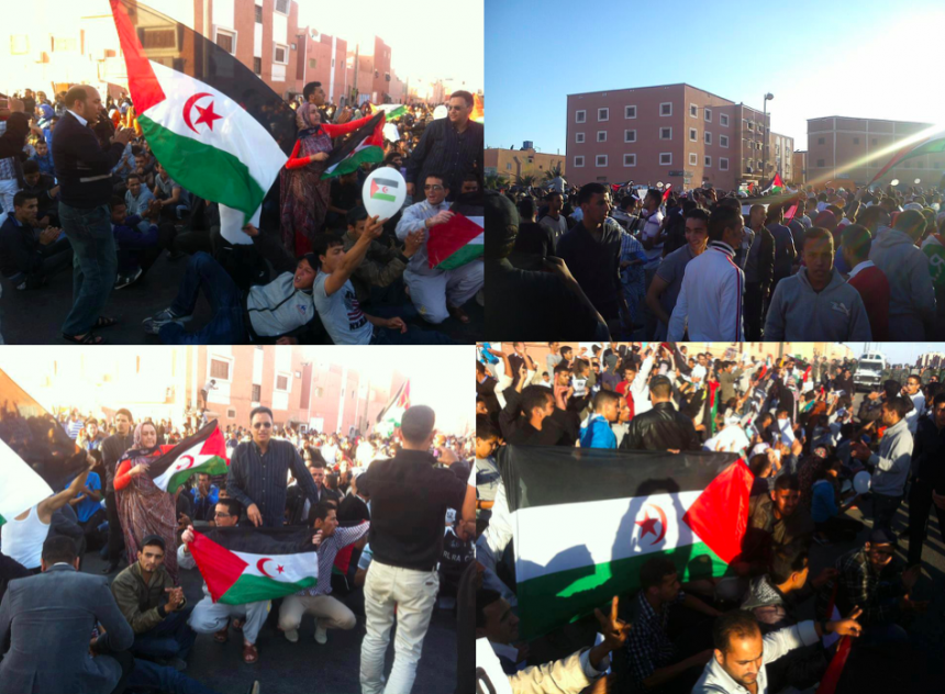 Independence Uprising Anniversary: International Community called to put more pressure on Moroccan occupier | Sahara Press Service